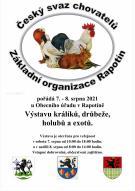 Výstava králíků, drůbeže, holubů a exotů 1