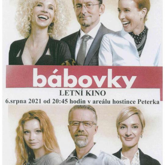 Letní kino Bábovky 1