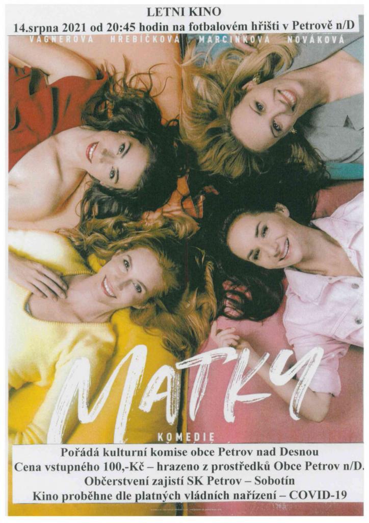 Letní kino Matky  1