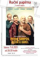 Letní kino Prvok, Šampón, Tečka a Karel 1